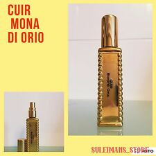 Cuir Mona di Orio - 14ml (0.47) fl.oz. decanted to gold colored bottle