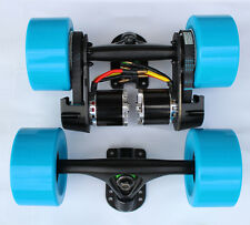 "DIY dual 1665W electric longboard parts kit 97MM wheel 8""truck dual N5065"