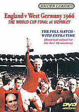 1966 WORLD CUP FINAL England V West Germany At Wembley DVD NEW Football Classics