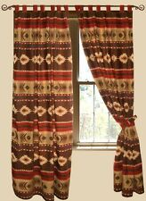 Cimarron Tab Top Drapes -Western/Southwestern - Free Shipping
