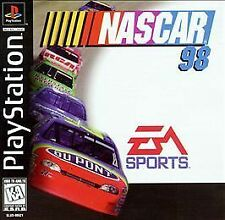 NASCAR 98  (Sony PlayStation 1, 1997) Rated K-A Kids to Adults