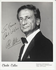 Photograph signed by actor ~ Charlie Callas