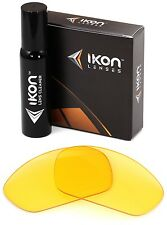 Polarized IKON Replacement Lenses For Oakley Straight Jacket 2007 HD Yellow