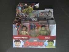 NEW~MARVEL MINIMATES~WAVE 63~AGE OF ULTRON~ULYSSES KLAUE & HULK~2 PACK