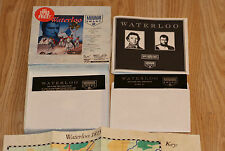 RARE VINTAGE FORMAT IBM PC 5.25 WATERLOO PC GAME  BY MIRROR IMAGE 1991