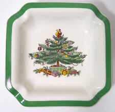Spode Christmas Tree ash tray candy dish 4 1/2""