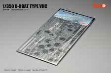 Jasmine Model 1/350 205001 German U-boat Type VIIC Submarine Skeleton