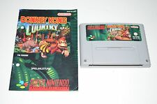Nintendo SNES Spiel DONKEY KONG COUNTRY + ANLEITUNG