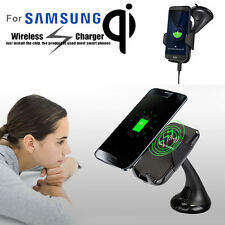 New Wireless Car Mount Charger Vehicle Dock Charging Stand for Samsung Galaxy S8