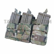 CONDOR MA44 MULTICAM MOLLE Triple Stacker 5.56 mm Rifle Mag Pouch Open Top