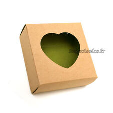 150 wholesale Soap Candle Candy Boxes Packaging Kraft W/Heart