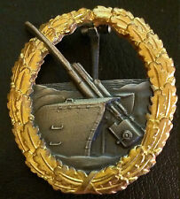 ✚5123✚ German Kriegsmarine Coastal Artillery War Badge after WW2 1957 pattern