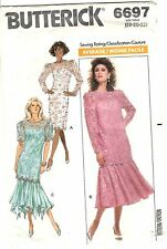Butterick Pattern Women's EVENING DRESS & TUNIC 6697 Size 18-20-22 UNCUT