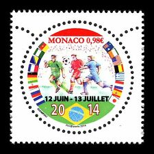 Monaco 2014 - FIFA Football World Cup Brazil Soccer Sports - MNH