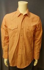 Vintage Gold Collection Karman Pearl Snap Shirt Medium Rockabilly Rodeo Western