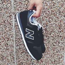 BLACK New Balance 373 Trainers Sneakers 8.5 UK MENS