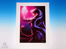 Psylocke Premium Art Print by Sideshow Collectibles Marvel Sample X-Men