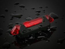 LED USB Rechargeable Mountain Road Bicycle Rear Tail Light Back Lamp Waterproof