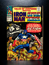 COMICS: Marvel: Tales of Suspense #86 (1967) - RARE (ironman/captain america)