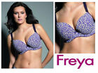 Freya Frida Deco Moulded Plunge Bra 4723 Purple Reign New Womens Lingerie