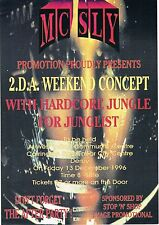 $ MC SLY Rave Flyer Flyers A5 13/12/96 West Indian Community Centre Derby