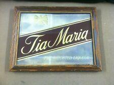 TIA MARIA IMPORTED LIQUEUR MIRROR 15 X 19.5