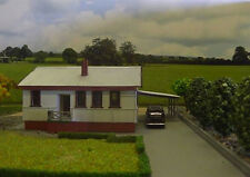 HO scale Australian 1950's style house (KIT) Maccas House