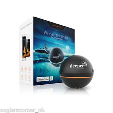 Deeper Smart Fishfinder, Wireless Sonar, Compatible with iOS & Android Devices