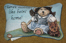 Boyds Bears Wonderful Wizard of Oz ~ Dorothy & Toto Tapestry Word Pillow
