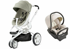 Quinny Moodd Travel System Natural Delight With Stroller & Mico Max 30 Car Seat