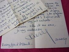 LOT LETTRES & CORRESPONDANCES de Pierre Lagarde  à Pierre Frondaie guerre 45