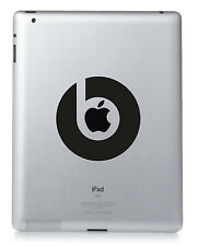 Dr DRE BEATS Apple iPad Mac Macbook Laptop Sticker Vinyl decal. Custom colour