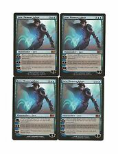 JACE, MEMORY ADEPT x4 4 4x 2014 M14 MTG Magic the Gathering Playset Lot
