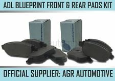 BLUEPRINT FRONT AND REAR PADS FOR MITSUBISHI CARISMA 1.8 2000-04