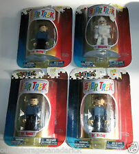 Star Trek MiniMates Lot of 4 Mr. Spock, Mugato & Dr. McCoy x 2 Art Asylum - NEW