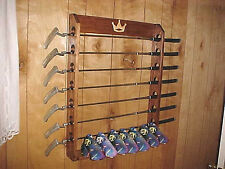 New Wood Golf Club Putter Display Rack for 7 Rare Scotty Cameron & Head covers