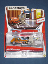 Disney Pixar Cars Grem With Camera Deluxe 2013 NEW