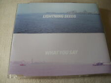THE LIGHTNING SEEDS - WHAT YOU SAY - UK CD SINGLE