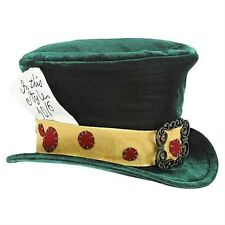 Disney Alice In Wonderland The Mad Hatter Child Replica Hat Cosplay New Rare