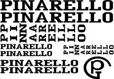 Pinarello road racing bike cycle frame stickers decals set CUT retro ANY COLOR