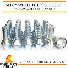 Wheel Bolts & Locks (16+4) 12x1.25 Nuts for Jeep Cherokee [Mk5] 14-16