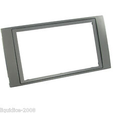 CT24FD41 FORD FOCUS 2004 to 2007 ANTHRACITE DOUBLE DIN FASCIA ADAPTER FRAME ONLY