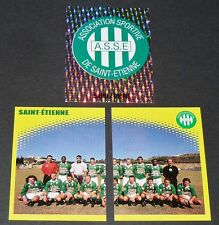 AS SAINT-ETIENNE ASSE VERTS CHAUDRON COMPLET PANINI FOOT 98 FOOTBALL 1997-1998