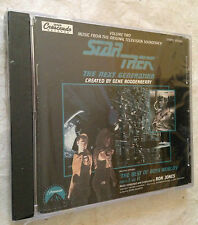 CD STAR TREK THE NEXT GENERATION SOUNDTRACK THE BEST OF BOTH WORLDS RON JONES