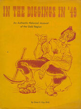 History California Gold Rush Book In The Diggings In '49 Owen Coy 1948