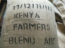 5# KENYA ABC RAW  UNROASTED GREEN COFFEE BEANS.  DIRECT TRADE.