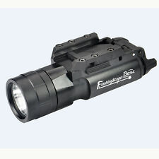 420 Lumen LED Tactical Flashlight with Picatinny Rail Mount for Rifle