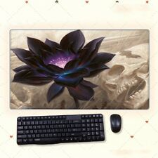 68cm*38cm Anime Desk Mat Magic The Gathering Black Lotus Extral Large Mouse Pad