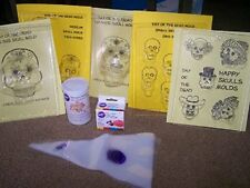 Day of the Dead Sugar Skull STARTER KIT - 1 MOLD - Make Sugar Skulls at Home!