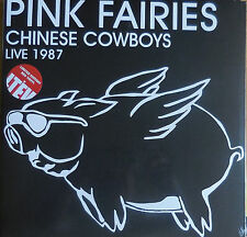 PINK FAIRIES chinese cowboys live 1987 Foldout Sleeve 2LP NEU OVP/Sealed